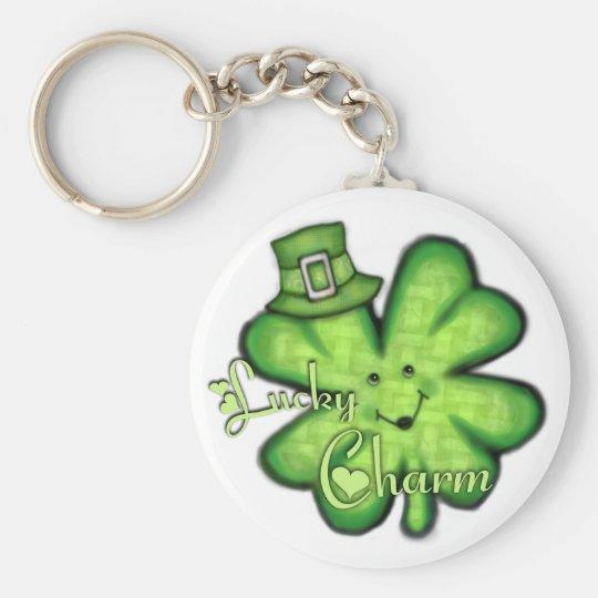 St. Patrick's Day Irish Lucky Shamrock Keychain