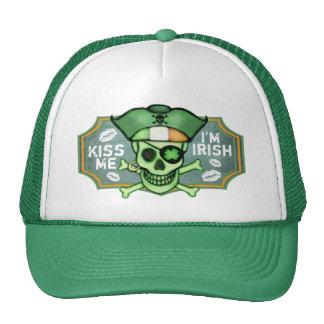 St. Patrick's Day Irish Pirate Trucker Hat