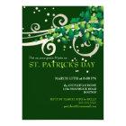 St. Patricks Day Irish Shamrock Party Invitation