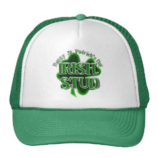 St. Patrick's Day Irish Stud Cap