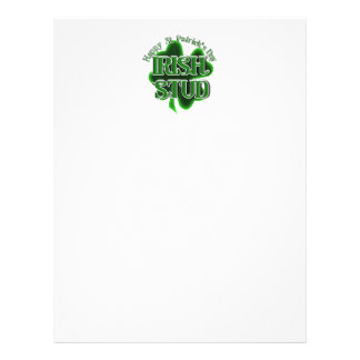 St Patrick's Day  - Irish Stud 21.5 Cm X 28 Cm Flyer