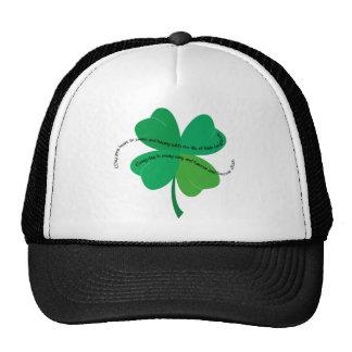 St Patricks Day Irish Toast Mesh Hat