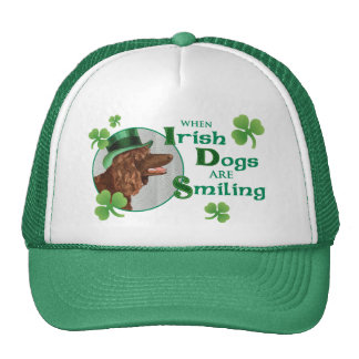 St. Patrick's Day Irish Water Spaniel Cap