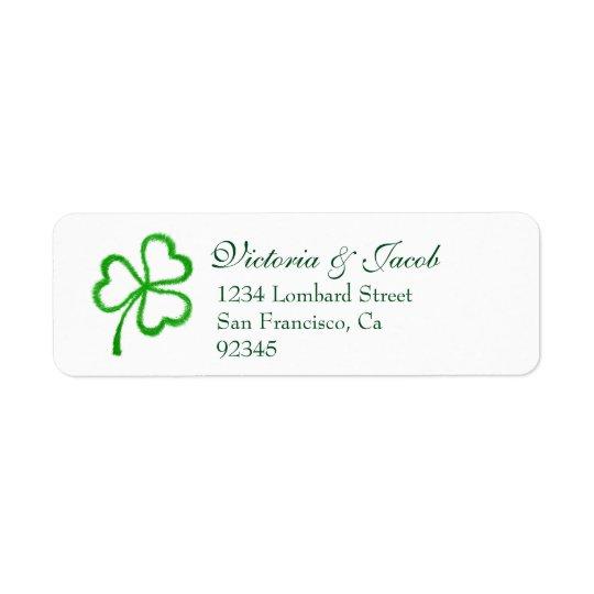 St. Patrick's Day Irish Wedding Green Shamrock