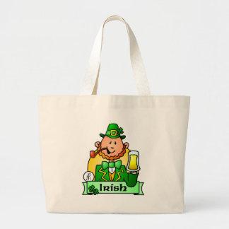 St. Patrick's Day Jumbo Tote Bag