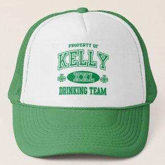 St Patricks Day Kelly Irish Drinking Team Trucker Hat
