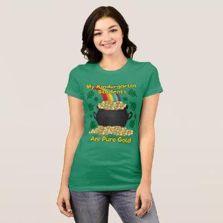 St. Patrick's Day Kindergarten Teacher T-Shirt