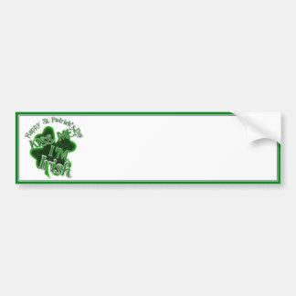St Patrick's Day  - Kiss Me, I'm Irish! Bumper Sticker