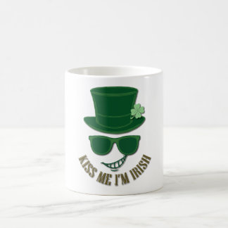 St Patrick's day kiss Me I'M Irish Coffee Mug