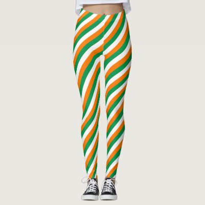 227e2e6dfb Irish flag custom leggings for St Patricks Day | Zazzle.co.uk
