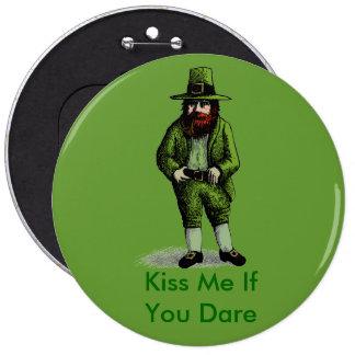 St. Patrick's Day Leprechaun Buttons