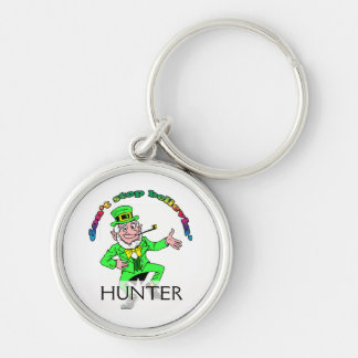 St. Patrick's Day Leprechaun Don't Stop Believing Keychains