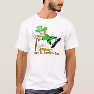 St Patrick's Day Leprechaun Gold T-Shirt