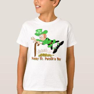 St Patrick's Day Leprechaun Gold T-shirts