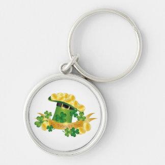 St. Patrick's Day Leprechaun Hat Keychain