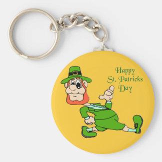 St. Patrick's Day Leprechaun Key Chains