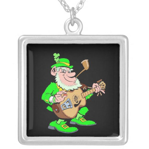St. Patrick's Day Leprechaun Pendants