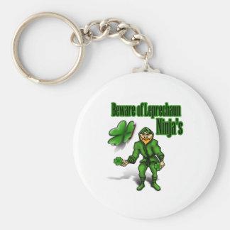 St. Patrick's Day, leprechaun ninja Keychains