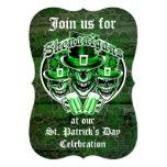 St. Patrick's Day Leprechaun Skulls: Shenanigans 13 Cm X 18 Cm Invitation Card