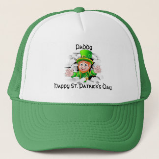 St. Patrick's Day Leprechaun Trucker Hat
