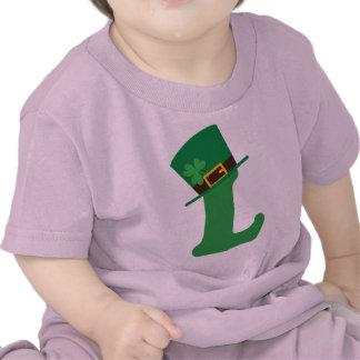St Patricks Day Letter L Alphabet Tshirt