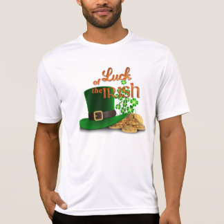 "St. Patrick's Day - ""Luck of the Irish"" T-Shirt"