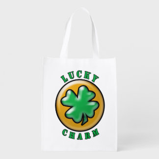 St. Patrick's Day Lucky Charm 4 Leaf Clover