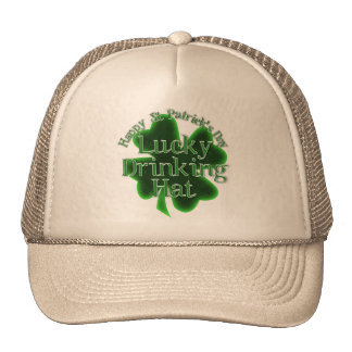 St. Patrick's Day Lucky Drinking Hat