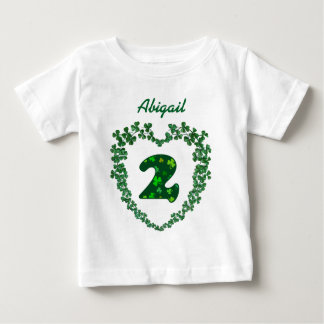 St Patricks Day Lucky March 17th 2nd Birthday V02A Baby T-Shirt