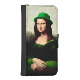 St Patrick's Day - Lucky Mona Lisa