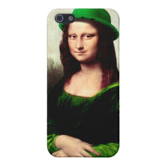 St Patrick's Day - Lucky Mona Lisa iPhone 5/5S Case