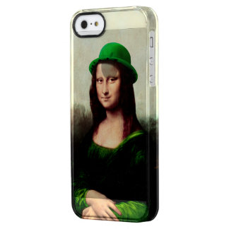 St Patrick's Day - Lucky Mona Lisa iPhone 6 Plus Case