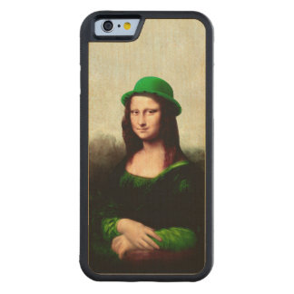 St Patrick's Day - Lucky Mona Lisa Maple iPhone 6 Bumper
