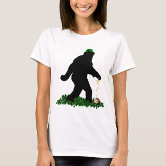 St Patrick's Day Lucky Sasquatch T-Shirt