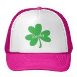 St. Patrick's Day Lucky Shamrock Mesh Hat