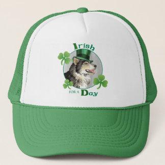 St. Patrick's Day Malemute Trucker Hat