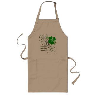 St. Patrick's Day Mumble Apron