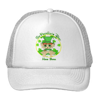 St Patrick's Day New York Hat