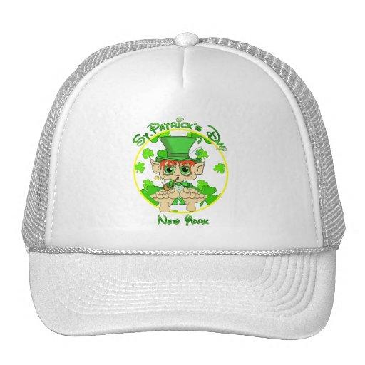 St Patrick's Day New York Hat