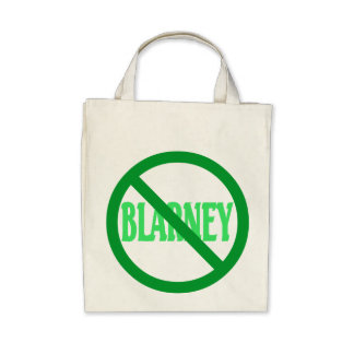 St. Patrick's Day No Blarney Allowed Canvas Bag