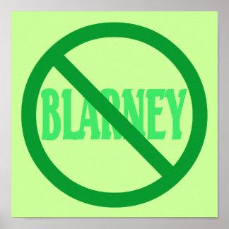 St. Patrick's Day No Blarney Allowed Print