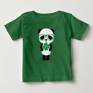 St. Patrick's Day Panda Baby T-Shirt