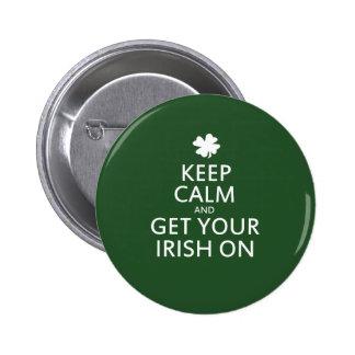 St Patricks day Parody Buttons