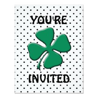 St. Patrick's Day Party 11 Cm X 14 Cm Invitation Card