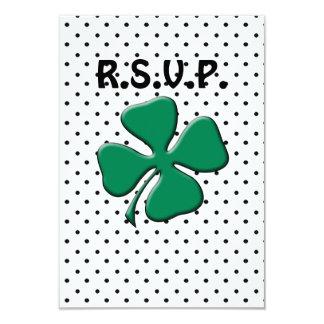 St. Patrick's Day Party 9 Cm X 13 Cm Invitation Card
