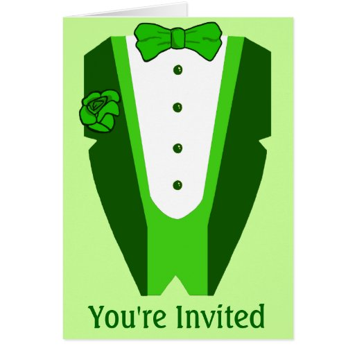 St. Patrick's Day party invitation Card