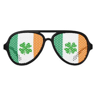 St patricks Day party shades | Funny Irish flag