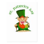 St Patrick's Day ~ Patty O'Party Post Cards