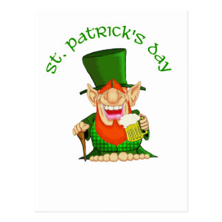 St Patrick's Day ~ Patty O'Party Postcard