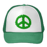 St Patrick's Day Peace Sign Hats